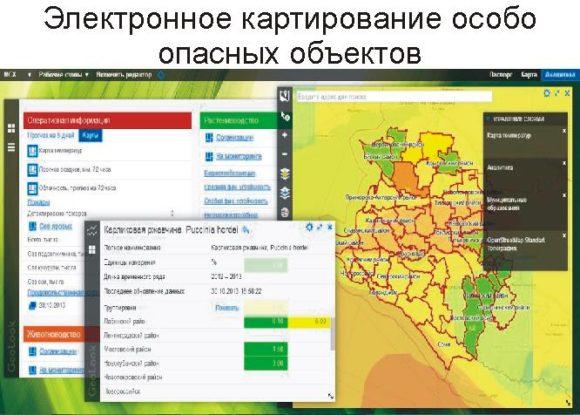 Электронное картирование особо опасных объектов