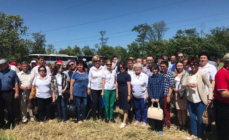 Участие Института в зональном практическом семинаре по защите  с.-х. культур