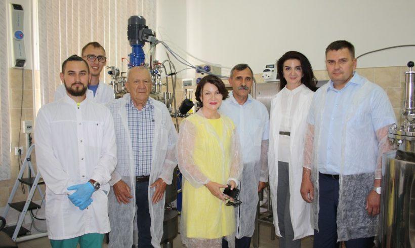 Посещение  Института руководителями МСХ Краснодарского края