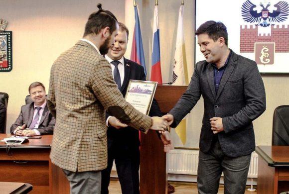 Работа молодого учёного ВНИИБЗР, в качестве парламентария молодёжного парламента г. Краснодара, была отмечена благодарностью