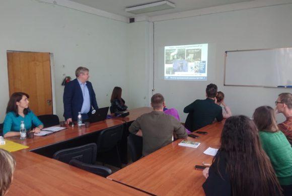 В рамках сотрудничества с УрО РАН прошла лекция на тему: «Радон как фактор облучения населения России»
