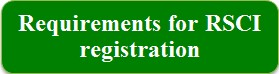 Requirements for RSCI registration