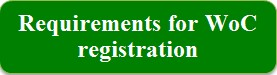 Requirements for WoC registration