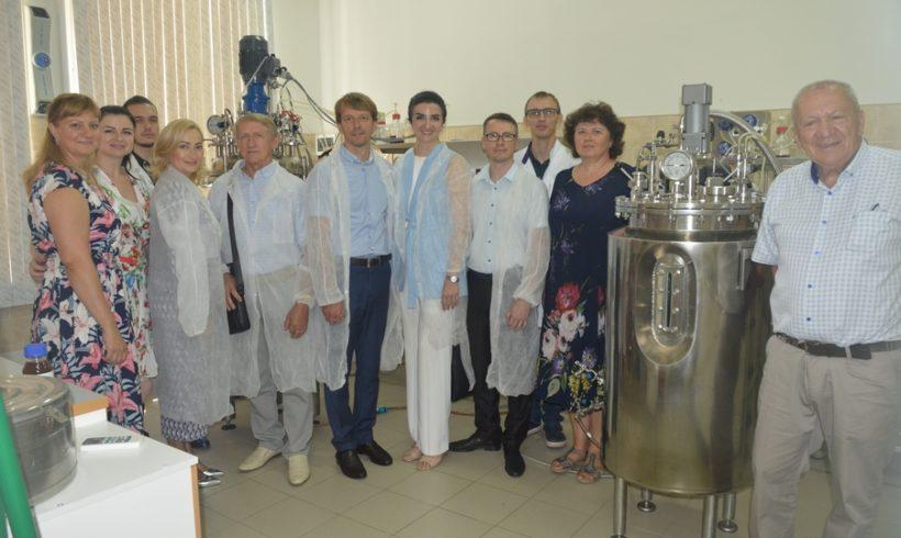 ФГБНУ ВНИИБЗР посетили руководители Кубанского Научного Фонда
